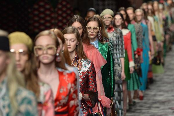 La sfilata di Gucci