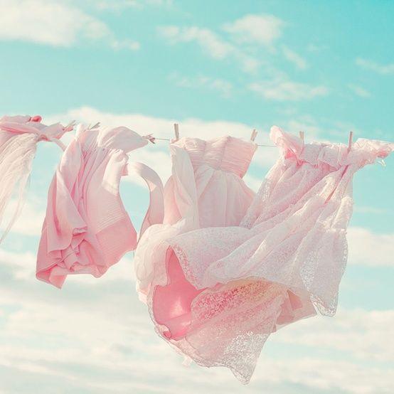 vestiti nel vento